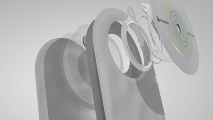 couplage du système 2 pièeces Sensura Mio