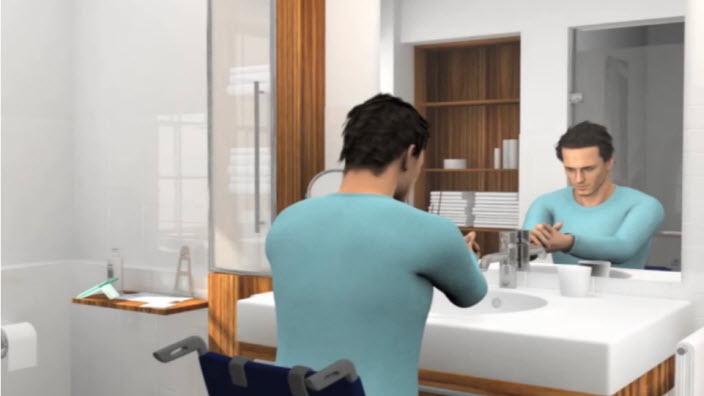 Guide d'utilisation d'une sonde urinaire compacte pour les hommes en fauteuil roulant