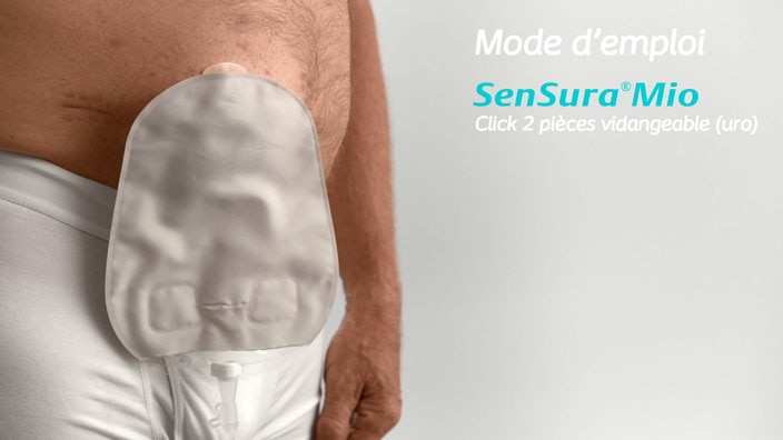 SenSura® Mio Click 2 pièces vidangeable