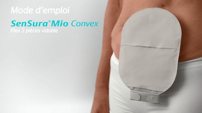 SenSura® Mio Convex Flex 2 pièces vidable