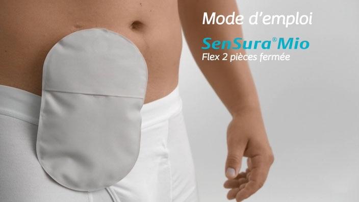 SenSura® Mio Flex 2 pièces fermée