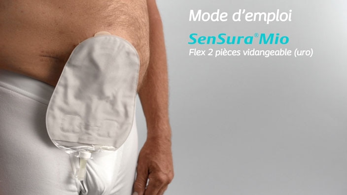 SenSura® Mio Flex 2 pièces vidangeable