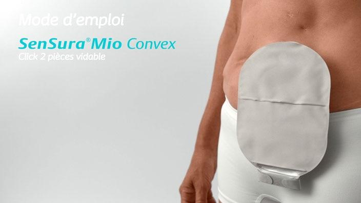 SenSura® Mio Convex Click 2 pièces vidable