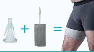 fuites urinaires masculines la solution conveen. Black Bedroom Furniture Sets. Home Design Ideas