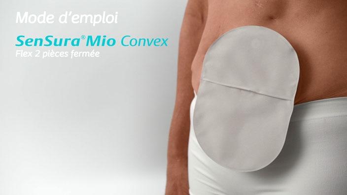 SenSura® Mio Convex Flex 2 pièces fermée